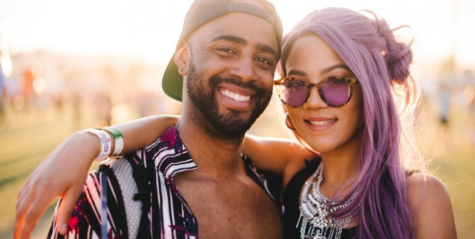INDIO, CALIFORNIA - APRIL 13: Festivalgoer street style at the 2019 Coachella Valley Music And Arts Festival - Weekend 1 on April 13, 2019 in Indio, California. (Photo by Matt Winkelmeyer/Getty Images for Coachella)
